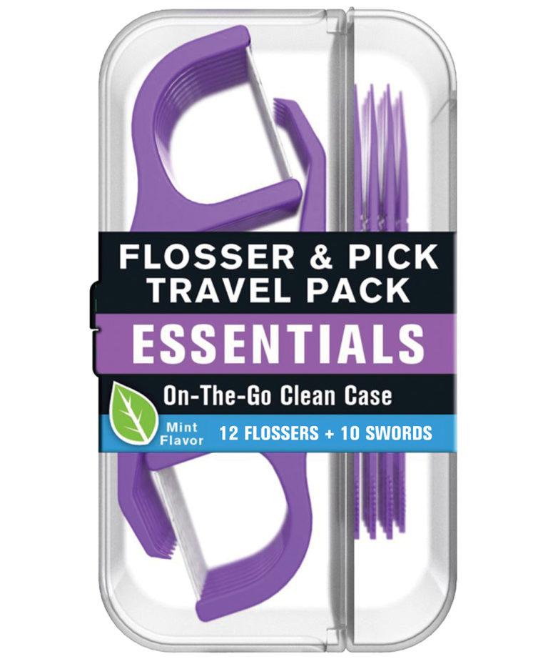 REACH Essentials Flosser & Pick Travel Pack