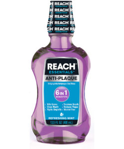 REACH Essentials Anti-Plaque 6 In 1 Benefits Mouthwash