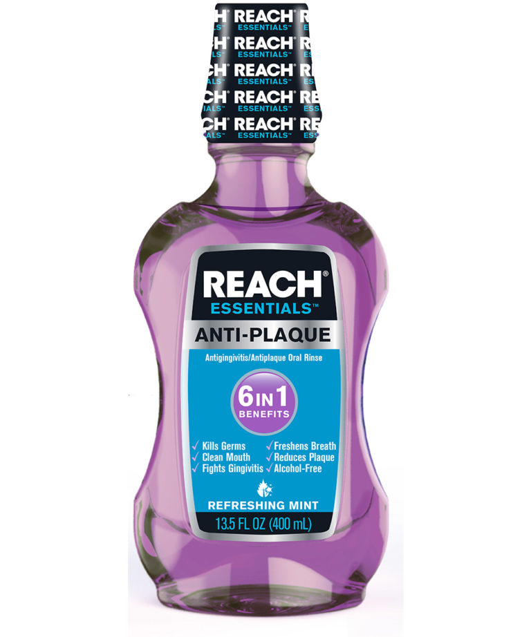 REACH Essentials Anti-Plaque 6 In 1 Benefits Mouthwash