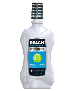 REACH Essentials Whitening 6 In 1 Benefits Mouthwash, 33.8Oz